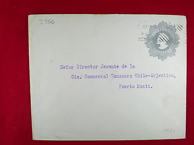 ZG-C842 CHILE - Stationary, 5 Centavos To Puerto Mont Cover