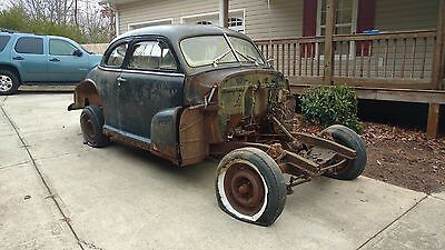 1948 Chevrolet Other Sport Coupe Two Project Cars!! 1948 Chevrolet Fleetmaster & 1948 Chevrolet Stylemaster