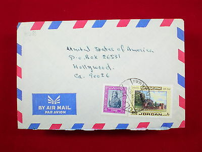 ZG-C892 JORDAN - Cover, 1976, Air Mail To Hollywood