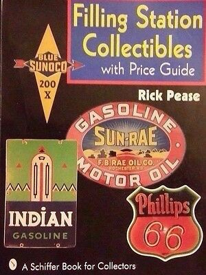 ANTIQUE GAS STATION COLLECTIBLES $$ GUIDE COLLECTOR'S BOOK Can Pump Globe+++