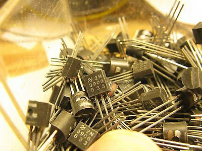 LOT of 16 PNP 2N3906 gen purpose NOS transistors each tested   FREE SHIP USA/CA