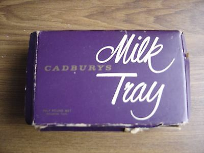 Vintage Cadbury's Milk Tray Box Half Pound Weight