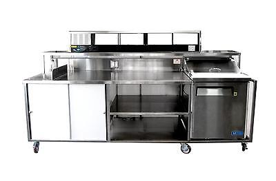 Porta Sink All Stainless Steel Self-Contained Portable Sushi Bar 4.0