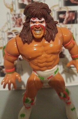 WWE WWF Hasbro Wrestling Figur The Ultimate Warrior 1991