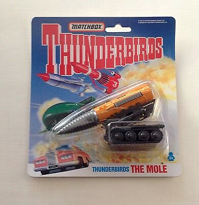 Thunderbirds : The Mole Die Cast Model Made By Matchbox 1993 Vintage