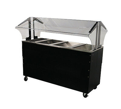 """Advance Tabco Portable Cold Food Buffet Table w/ 8"""" Deep Well Solid Base"""