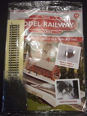 Your Model Railway Village Magazine No 49 straight track and coal