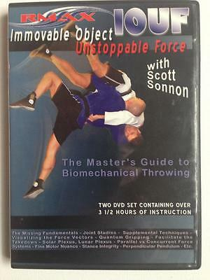 DVD Scott Sonnon Immovable Object Unstoppable Force MMA Throwing Training