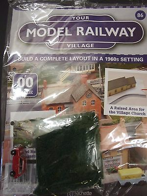 Your Model Railway Village Magazine No 86 Austin Mini Car & green Scatter