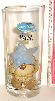 FIZZY MOON bear 2016 Paper Island Uk glass - bicchiere vetro PAPA'