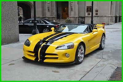2010 Dodge Viper SRT10 2010 SRT10 Dodge Vipe  Car has Rebuilt title  thats why its so Cheap Super Clean
