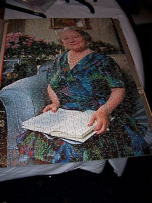 80th Birthday of Queen Elizabeth The Queen Mother Jigsaw puzzle 500 pieces
