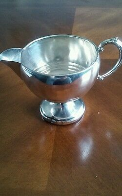 Sterling Silver Weighted Gravy Pitcher