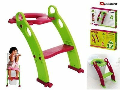 Toddler Toilet Training Seat Ladder Kid Baby Toilet Potty Training Chair Step Up