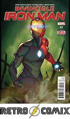 Marvel Invincible Iron Man #3 First Print New/unread Bagged & Boarded