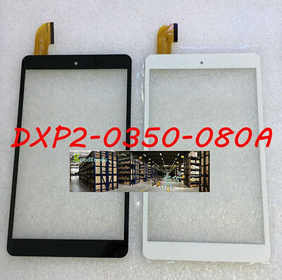 1pcs For DXP2-0350-080A black or white Touch Screen Glass Digitizer