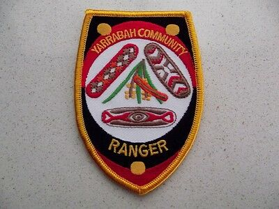 Obsolete/Defunct Yarrabah Community Ranger (Qld) Cloth Patch