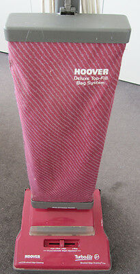SPARE PARTS HOOVER turbolite upright CRIMSON white VACUUM cleaner BAG used HOME