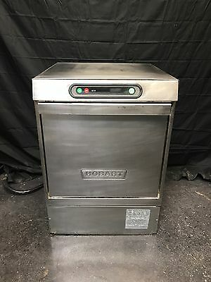 Hobart LXI-H Hot Water Sanitizing Undercounter Glass Dish Washer