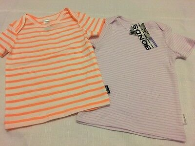 2 Bonds Tops Baby's Size 00 & 0 Brand New Tshirts