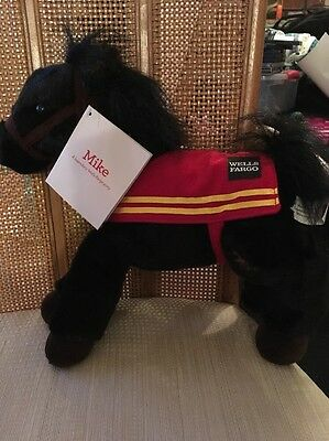 Wells Fargo Legendary Ponies Horse plush MIKE New With Tags NWT