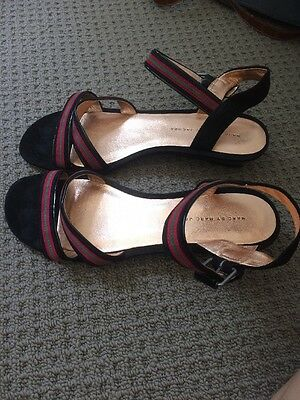 Marc By Marc Jacobs Suede Sandals. Vintage. Never Worn.