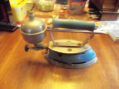 Antique Iron With Pump