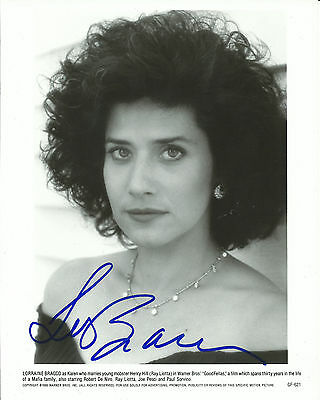 Lorraine Bracco Goodfellas In-Person Hand Signed Autographed Photo