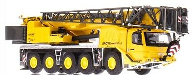 GROVE GMK5130-2 5 AXLE MOBILE CRANE - YELLOW - 1:50 Scale by Towsleys