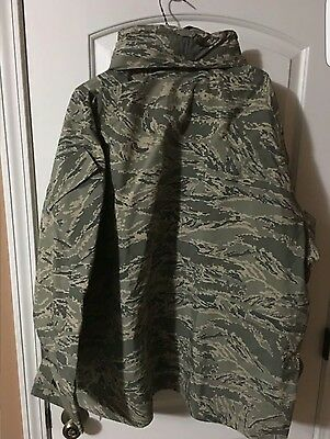 gortex large-long air force jacket