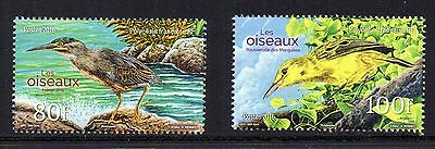 New Issue Fine  French Polynesia Birds Set Mnh 2016