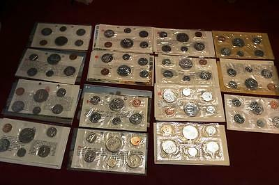 15 Mint Canada Canadian Sets 6 Coins Per Set Dollars Fifty Cent  Uncirculated