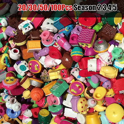 20/30/50/100 Pcs Random Shopkins of Season1 2 3 4 5 All different Loose Shopkins