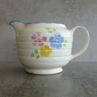 Vintage Swinnertons Milk Jug or Water Pitcher Staffordshire England 1Lt 1940s
