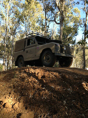 "1965 Land Rover Other Base 1965 Land Rover Land Rover Series IIA 88"" RHD Defender"