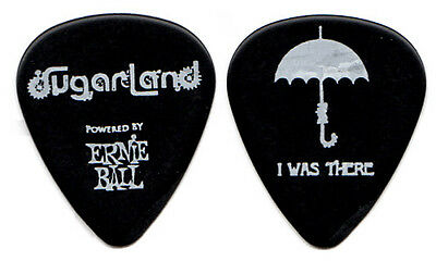 SUGARLAND Guitar Pick : 2011 Tour - black umbrella I Was There country