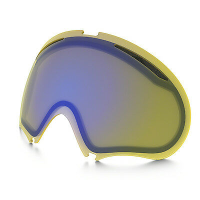 OAKLEY NEW A-Frame 2.0 Replacement Goggle Lenses Yellow BNIB