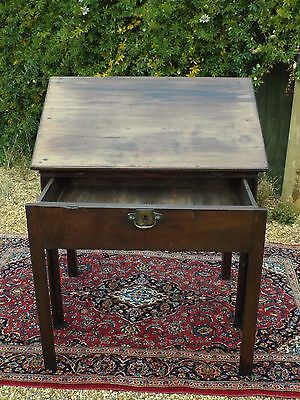 offer RARE GEORGE 3rd ANTIQUE ARCHITECT'S TABLE DESK METAMORPHIC MAHOGANY WOOD