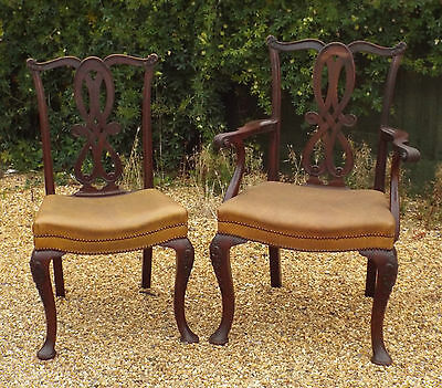OFFER - set 8 GOODALL LAMB & HEIGHWAY of MANCHESTER SUPERB ANTIQUE DINING CHAIRS