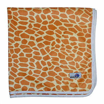 Waterproof Mat Minky Change mat, Bed mat, Mini picnic rug Reusable Giraffe Print