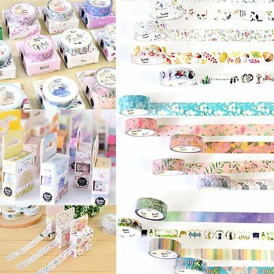 Random Crafts Masking Decor Sticker Paper Roll Washi Tape DIY Cartoon