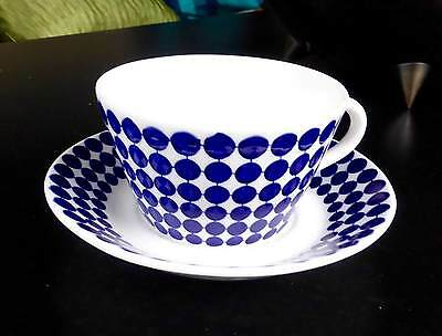 Gustavsberg Adam Cup & Saucer Set: made in Sweden: excellent condition