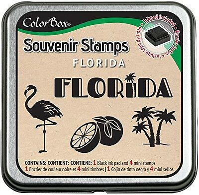 CLEARSNAP Clearsnap ColorBox Souvenir Stamps, Florida