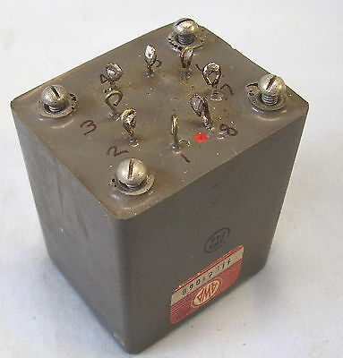 AUDIO COUPLING TRANSFORMER VINTAGE AWA 600 Ohms to 10kOhms Tested OK