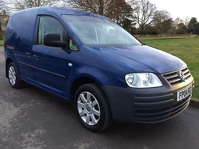 VW Caddy 1.9 TDI Blue Van 2004