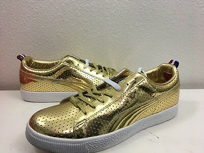 Puma Clyde x UNDFTD GAMETIME PROMO UNDEFEATED GOLD RED WHITE BLUE 354273 01 LOT