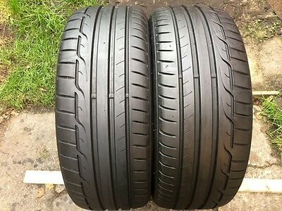 205 45 17  Dunlop Sp Sport Maxx Rt   Tyres   6 Mm  Tread   X2  88W Xl