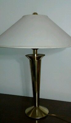 Rare  prototype  Ultra Modern Art Deco AutoMax Lamp  Vintage Retro solids brass