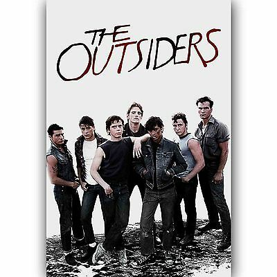 New The Outsiders Custom Silk Poster Wall Decor
