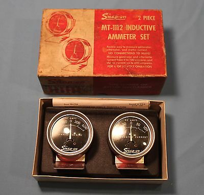 Snap-On Mt-1112 2 Piece Inductive Ammeter Set Tool